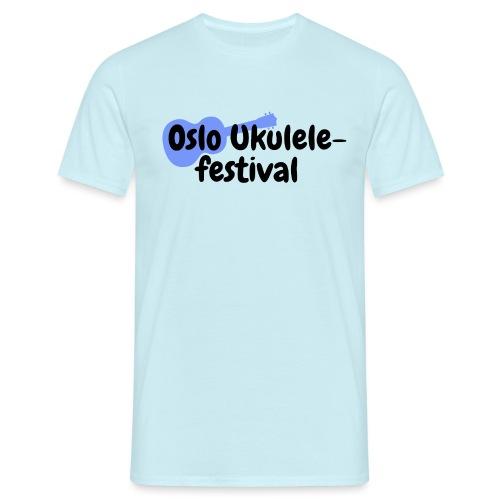 Oslo Ukulelefestival - T-skjorte for menn