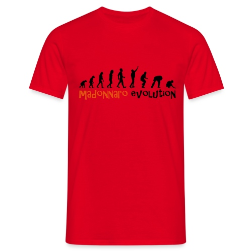 madonnaro evolution original - Men's T-Shirt