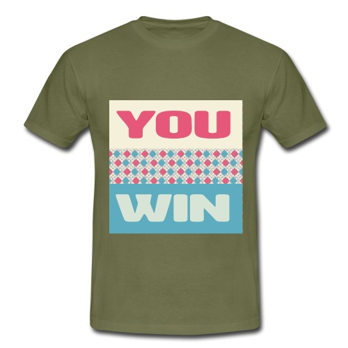 you win 8 - Men's T-Shirt