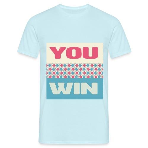 you win 8 - Men's T-Shirt