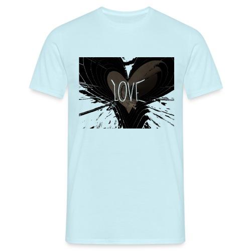 explosion d amour - T-shirt Homme