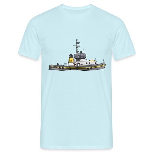 Schlepper Schleppschiff c - Männer T-Shirt