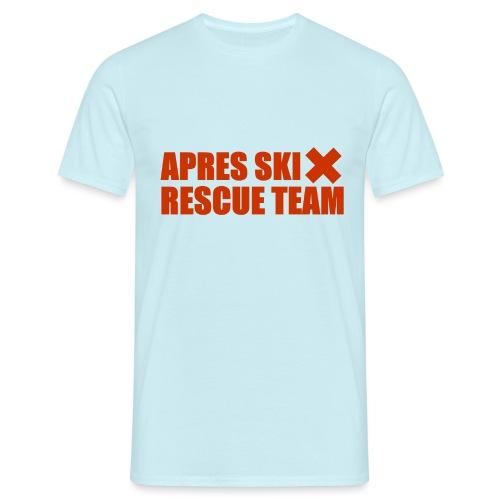 apres-ski rescue team - Mannen T-shirt