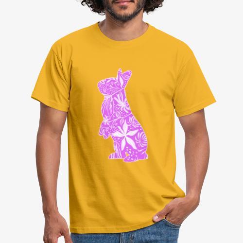 Flower Bunny IV - Miesten t-paita