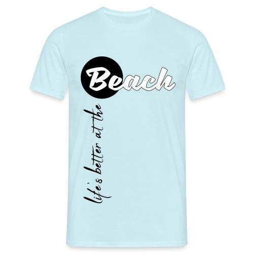Strandleben - Männer T-Shirt