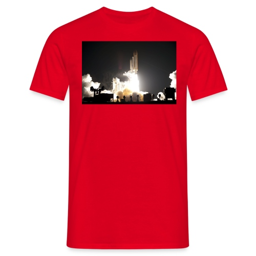 sts130 launch l - Männer T-Shirt