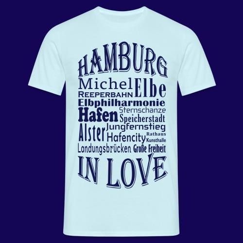 Hamburg in Love: Die Highlights der Hansestadt - Männer T-Shirt