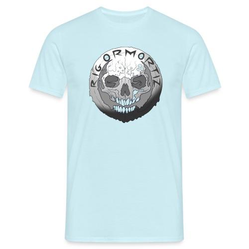 Rigormortiz Black and White Design - Men's T-Shirt