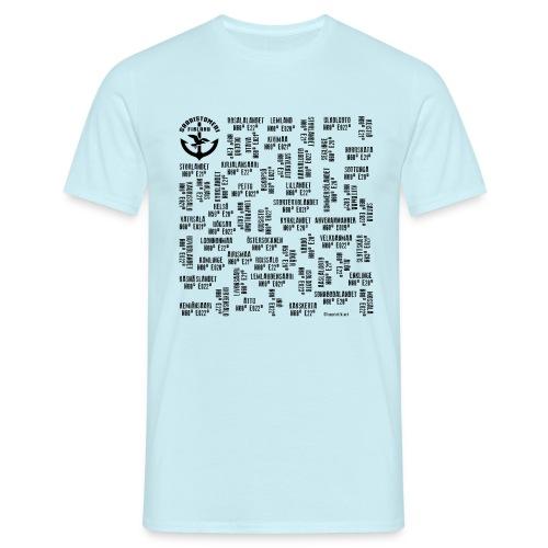 SAARISTOMERI SAARET Merelliset tekstiilit, lahjat - Miesten t-paita