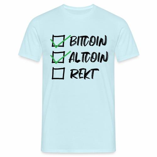 CryptoLoco - CheckList - T-shirt Homme