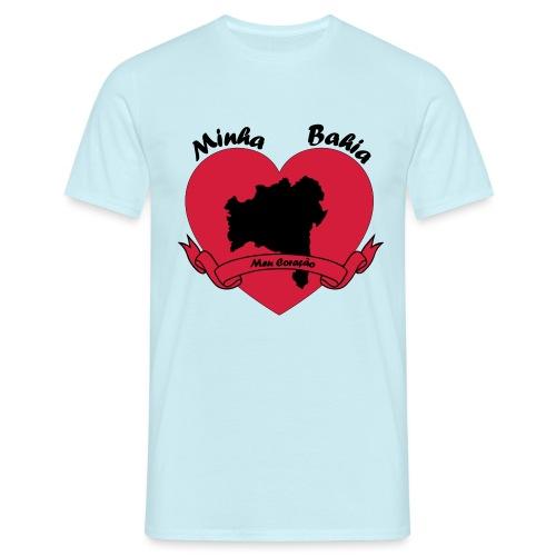 Minha Bahia - Meu Coracao - Männer T-Shirt