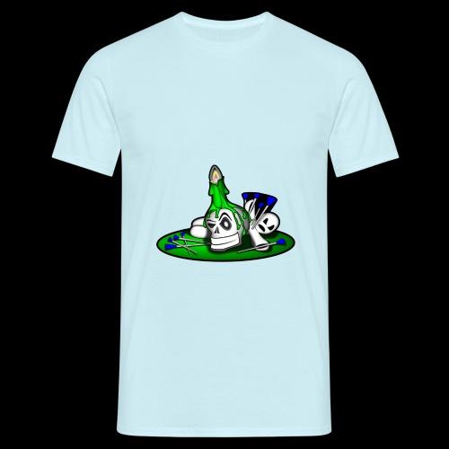 greenSkull svg - Männer T-Shirt