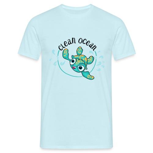 Clean Ocean - Men's T-Shirt
