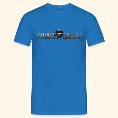 Pirate Galaxy Logo New - Men's T-Shirt