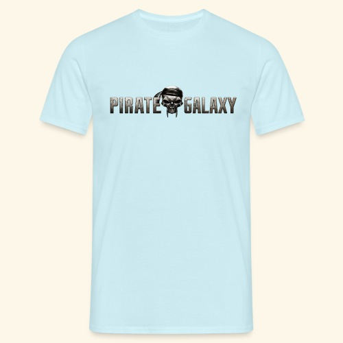 Pirate Galaxy Logo New - Men's T-Shirt
