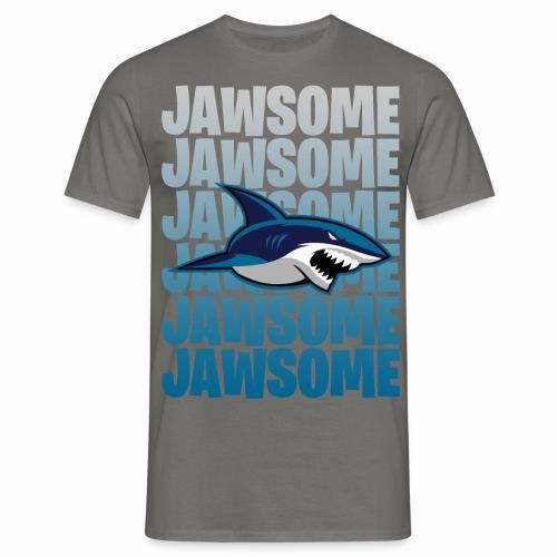 Jawsome - T-shirt herr