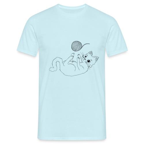 Fluffy - Männer T-Shirt