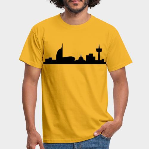 Bremerhaven Skyline V2016 Full - Männer T-Shirt