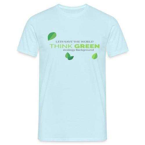Lest save the world - Camiseta hombre