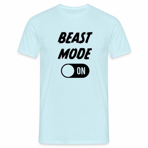 Ruokatauon Beast Mode - Miesten t-paita