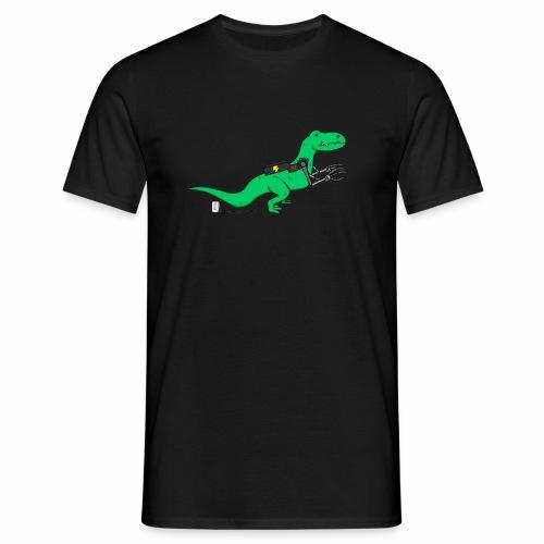 cyborgsaurusprint - Mannen T-shirt
