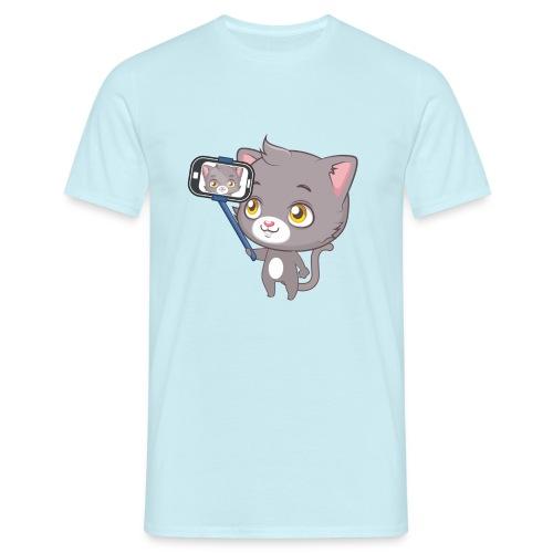 Cute cat tee - Men's T-Shirt