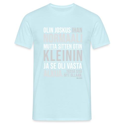 Vasta Alkua Kleini - Miesten t-paita