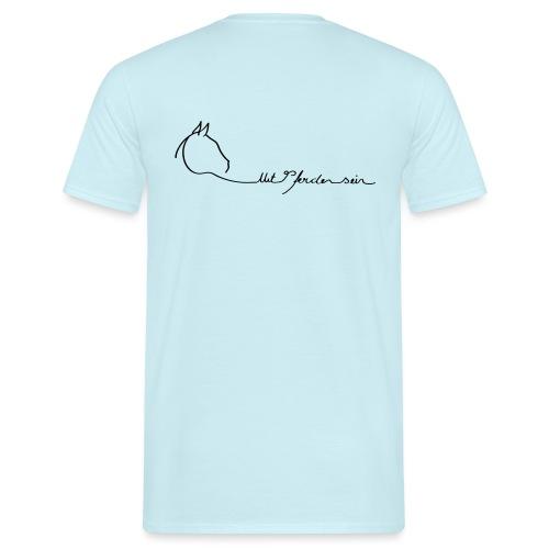 LOGO Svenya MPS Logoschriftzug - Männer T-Shirt