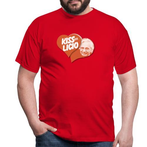 Kiss Me Licio - Maglietta da uomo