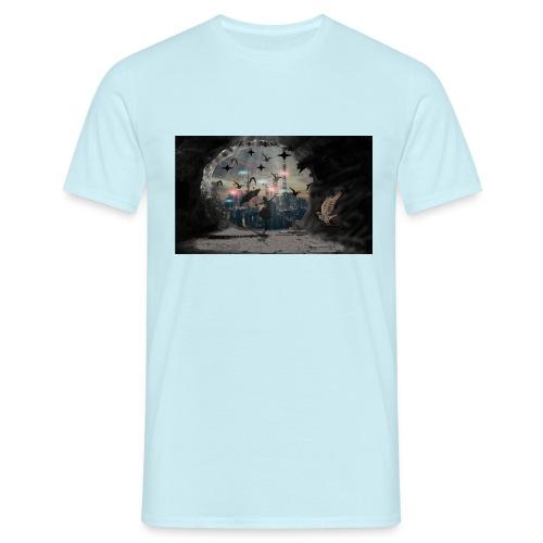 Schatten - Männer T-Shirt