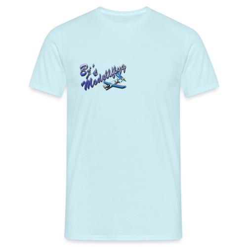 Logo Bjs Modellflyg New png - T-shirt herr