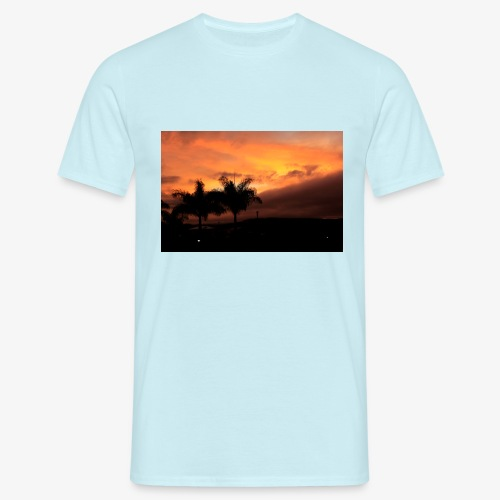 Atardecer - Camiseta hombre