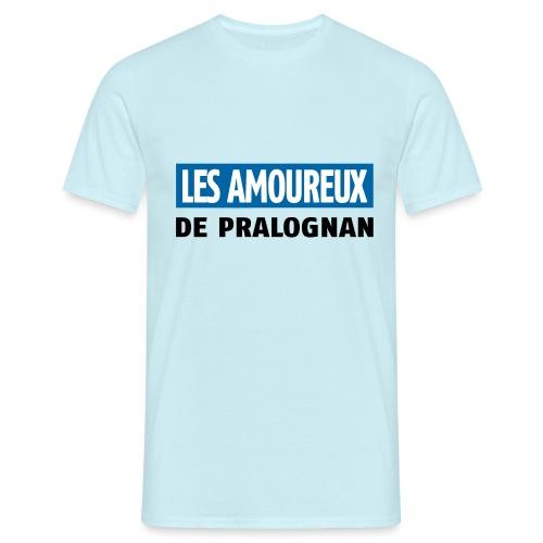 les amoureux de pralognan texte - T-shirt Homme