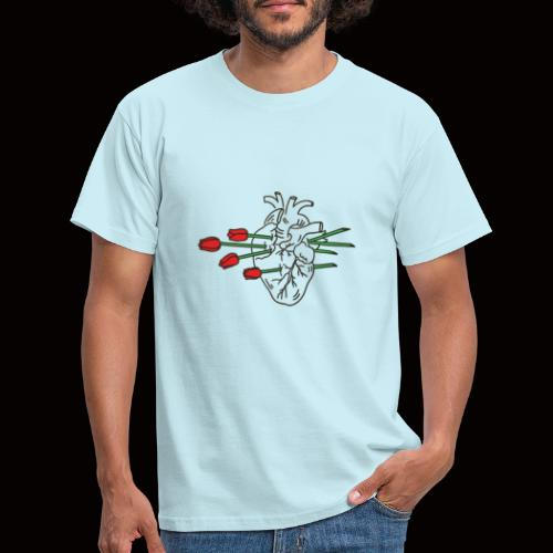 roses. - Männer T-Shirt