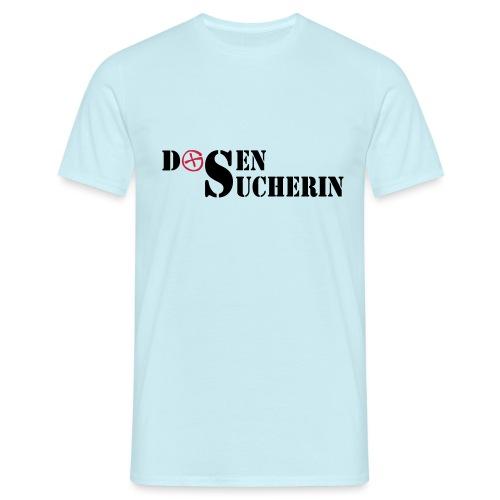 Dosensucherin - 2colors - 2011 - Männer T-Shirt