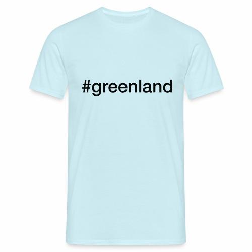 #greenland - Herre-T-shirt