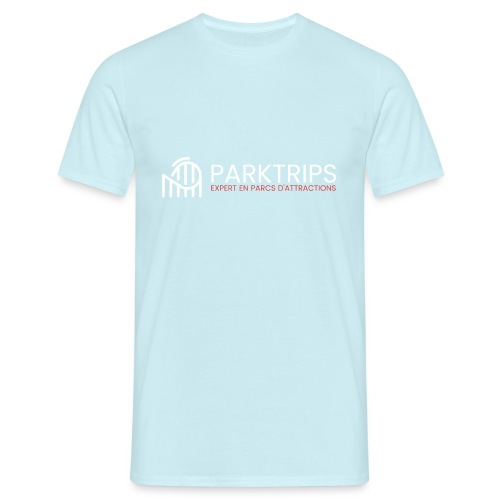 Park Trips - Logo Blanc - T-shirt Homme