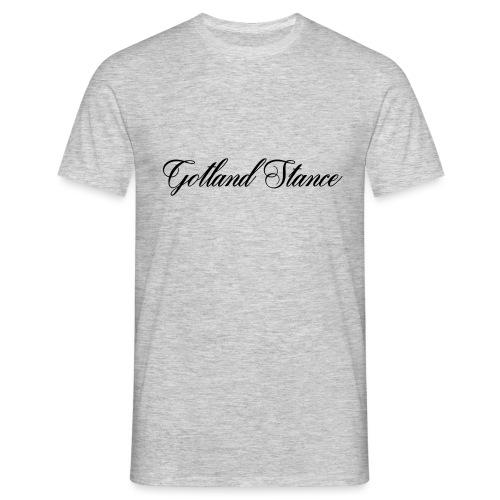 Gotland Stance Svart - T-shirt herr