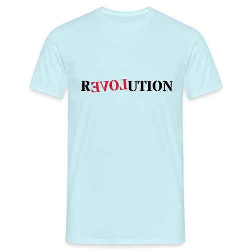 Revolution love - Men's T-Shirt