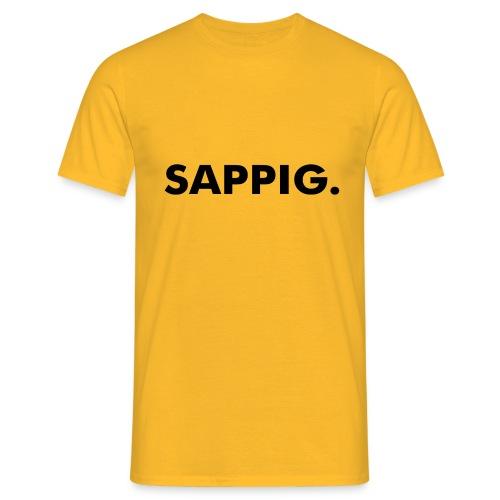 SAPPIG. - Mannen T-shirt