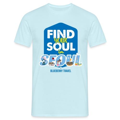 Seoul by Blueberry Travel - Maglietta da uomo