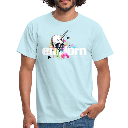 Einhorn - Männer T-Shirt