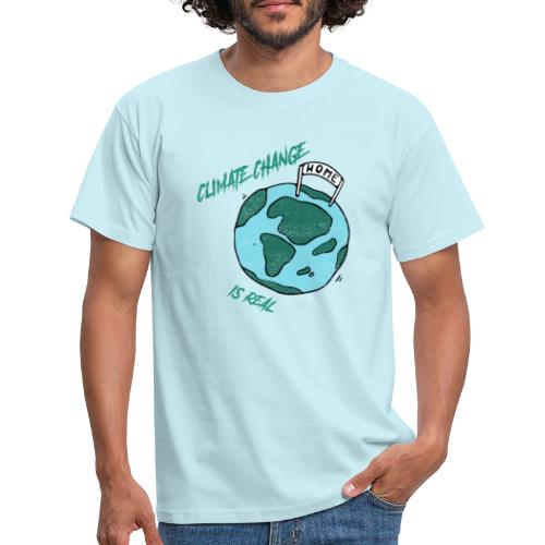 Climate change is real - Mannen T-shirt