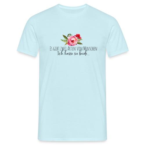 Menschliebe - Männer T-Shirt