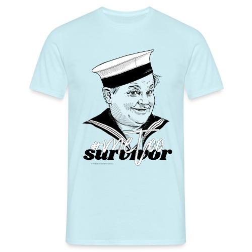 #metoo survivor - Herre-T-shirt