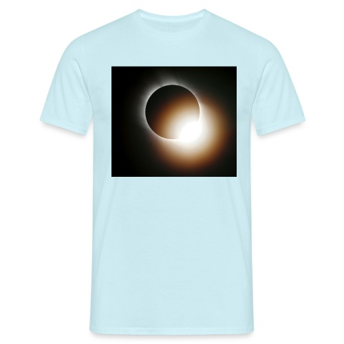 total solar eclipse 0808 - T-shirt herr
