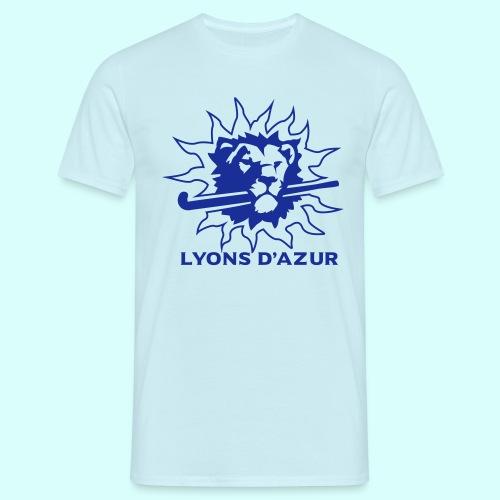 1 couleurs contour lions - T-shirt Homme