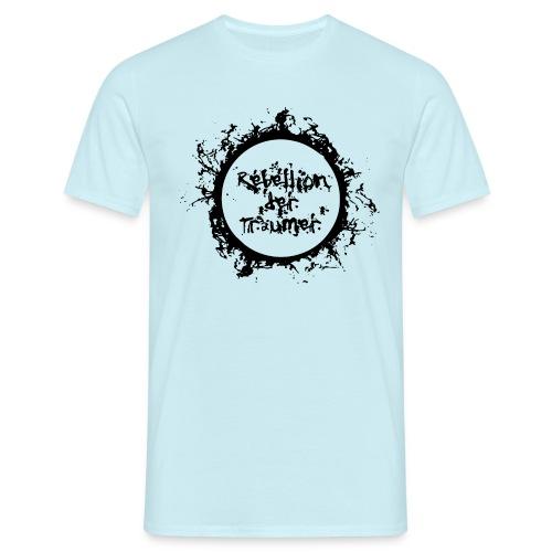 Rebellion der Träumer Logo schwarz - Männer T-Shirt
