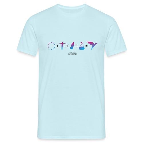 Humanisten Formel: Europa - Männer T-Shirt