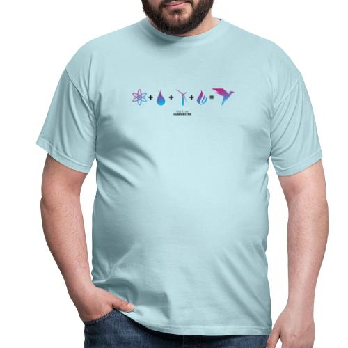 Humanisten Formel: Energie - Männer T-Shirt